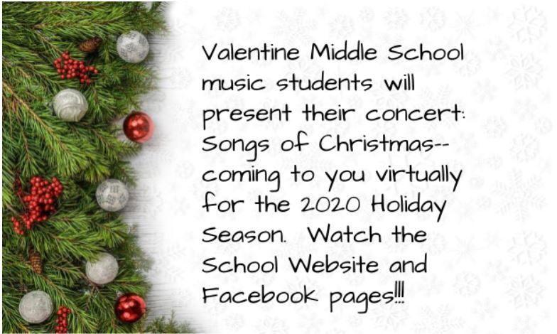 VMS Virtual Christmas Concert