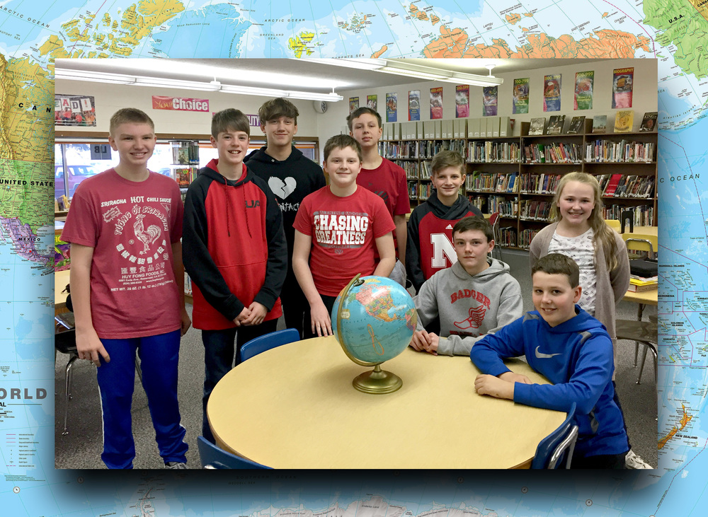VMS - National Geographic Geography Bee Winners Announced