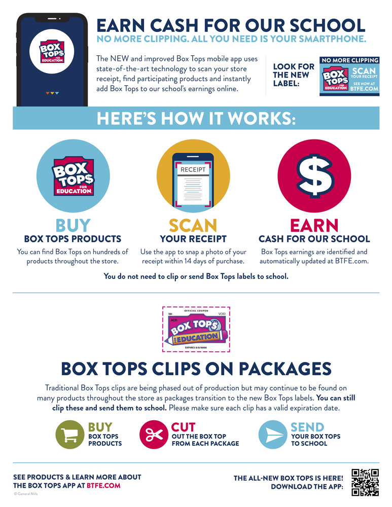 No More Clipping! Box Tops for Education App Announced