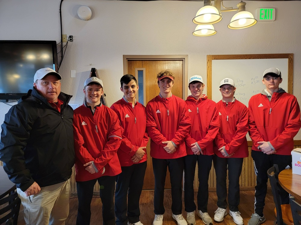 Congratulations Boys Golf