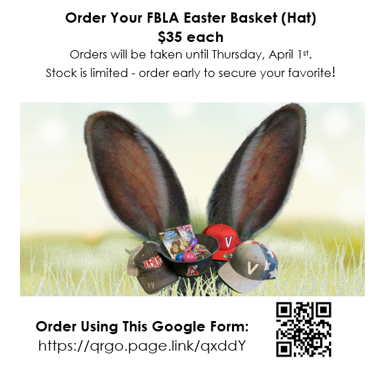 FBLA Easter Basket