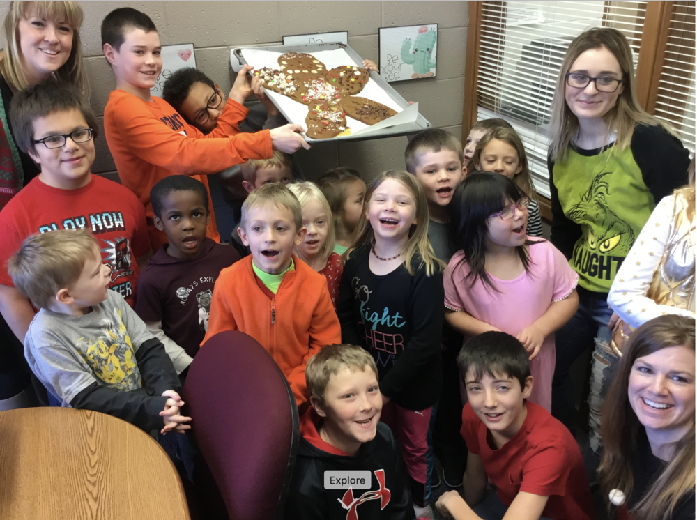 Kindergarten Gingerbread Man Unit