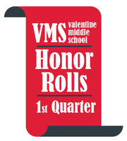 1st Quarter VMS Honor Rolls