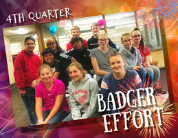 4th Quarter VMS Badger Effort Awards