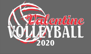 Valentine Volleyball Shirts