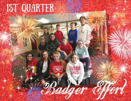 1st Quarter VMS Badger Effort Awards