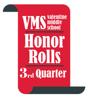 VMS 3rd Quarter Honor Rolls