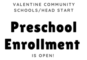 VCS/Head Start Preschool Enrollment