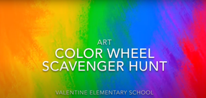 Color Wheel Scavenger Hunt