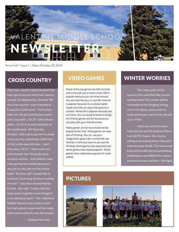 VMS Badger Quarterly Newsletter - Q1